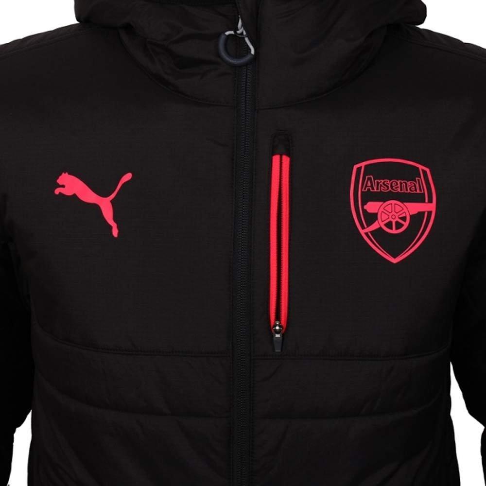 20067435f Puma 2017-2018 Arsenal Reversible Jacket (Black-Grey): Amazon.co.uk: Sports  & Outdoors