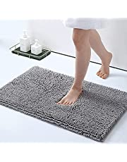 PATIOSNAP Bathroom Carpet Mat, Non-slip and Soft Absorbable Carpet, Machine Cleaning and Drying, Perfect Plush Door Mat, Bath Mat, Kitchen, Living Room Mat (40 * 60 cm)