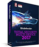 Bitdefender Total Security Multi Device 2017 – 5 Geräte | 1 Jahr (MAC, Windows & Android) - Aktivierungscode (bumps)