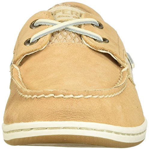 Sperry Top-Sider Womens Koifish Mesh Boat Shoe Linen cJuy6