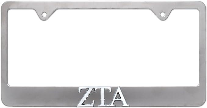 Zeta Tau Alpha Auto Emblem Elektroplate