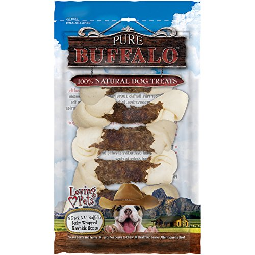 Loving Pets Pure Buffalo 5 Piece 3-4