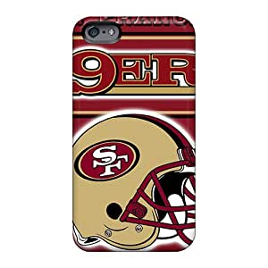Bumper Hard Phone Covers For Apple Iphone 6 Plus (EBh19651JgTW) Customized Realistic San Francisco 49ers Pictures