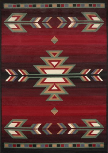 Home Dynamix 7053-450 Sagrada Southwest Area Rug 3x5 Black