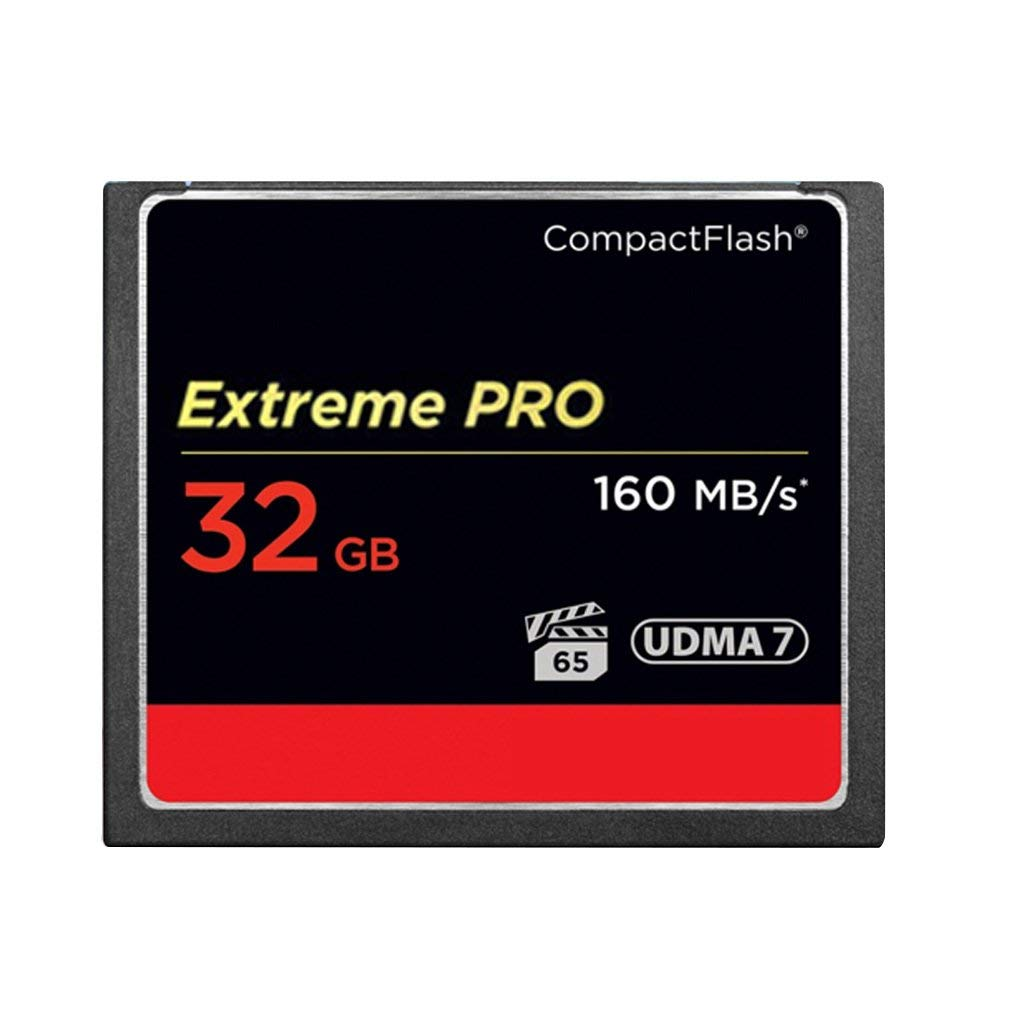 Sandisk 32 GB Extreme Pro CF 160MB/s High Speed UDMA7 Compact Flash Card