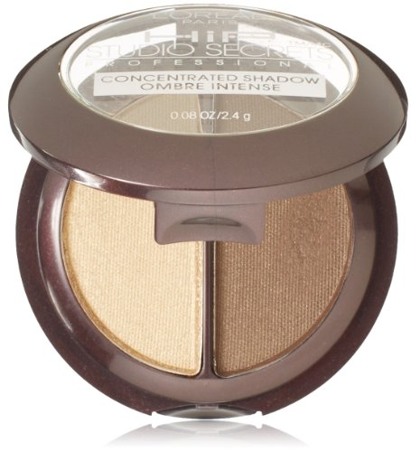 L'Oreal Paris HiP high intensity pigments Concentrated Eye Shadow Duos, Dynamic, 0.08 Ounces