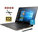 "HP Spectre x360 15t Convertible 2-in-1 Laptop (Intel 8th Gen i7-8705G 3.1 GHz, 32GB RAM, 2TB Sata SSD, 15.6"" UHD 4K Touch 3840x2160, Radeon RX Vega, Fingerprint, TPM, Thunderbolt, HP Pen, Win 10 Pro)"