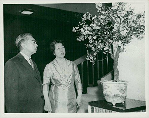 - Vintage photo of Emperor Hirohito and Empress Nagako