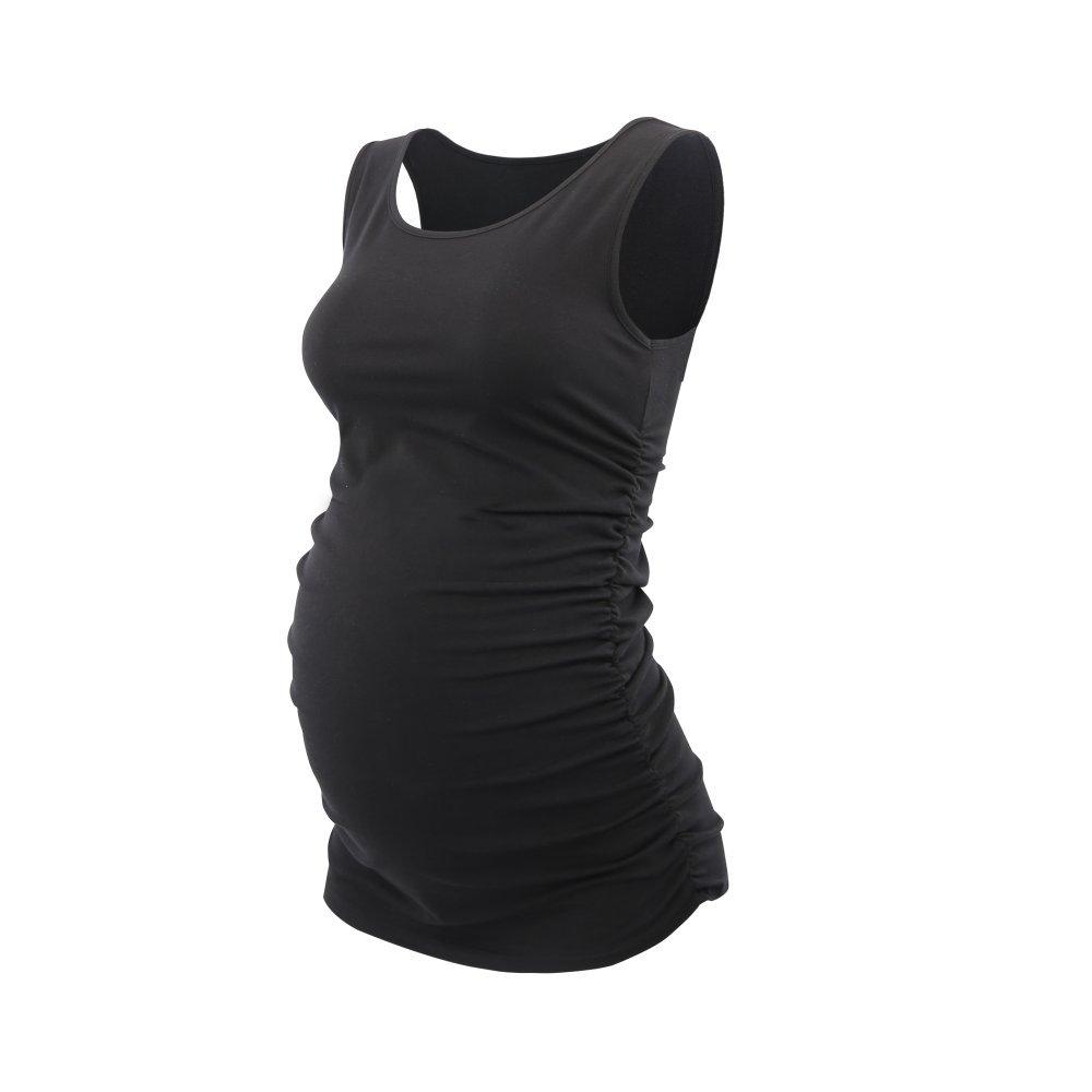 Womens Sleeveless Maternity Tank Top Topwhere Pregnancy Vest