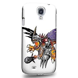 Case88 Premium Designs Digimon Adventure Augmon Greymon MetalGreymon WarGreymon 0937 Carcasa/Funda dura para el Samsung Galaxy S4