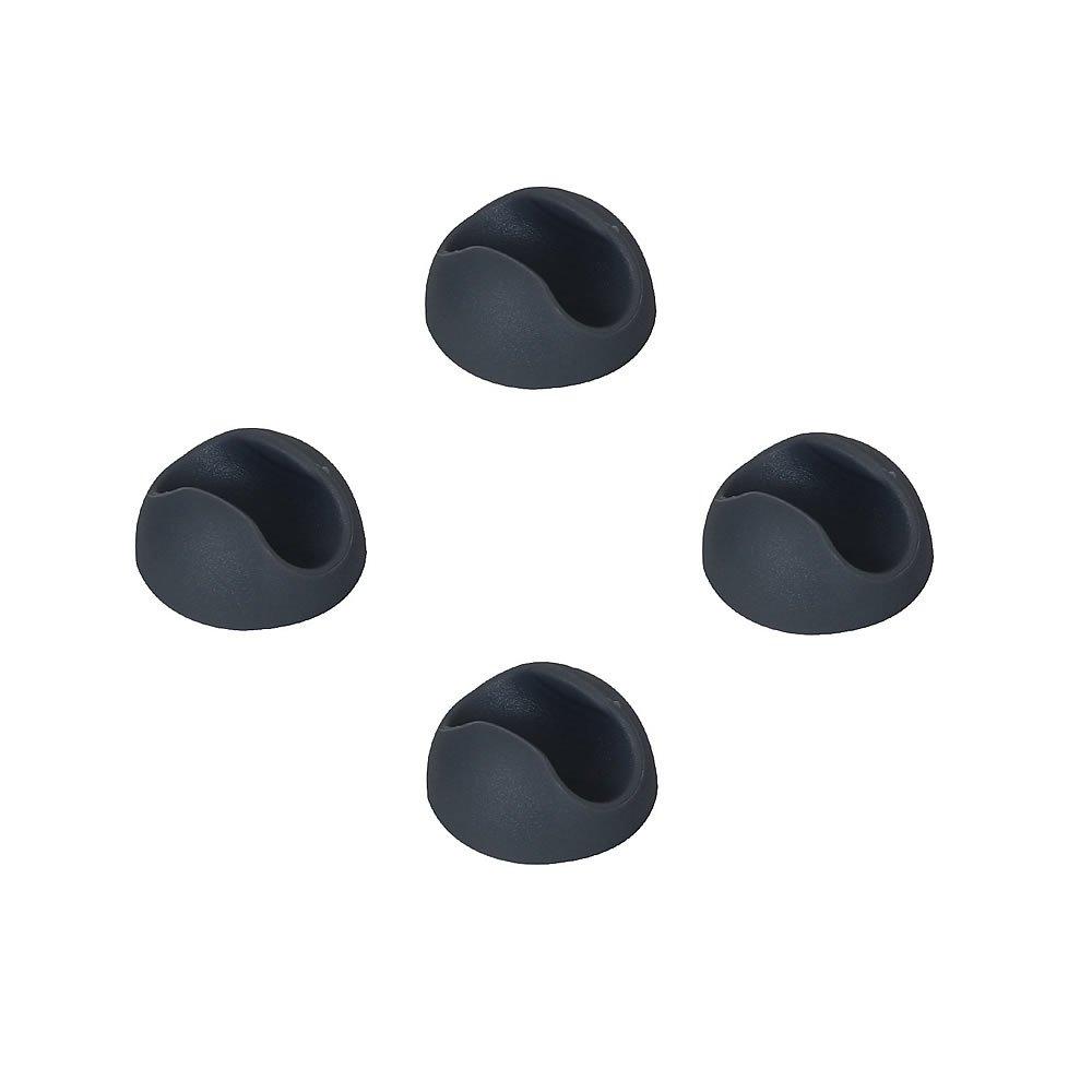 schlanke Tischbeine aus Stahl 25cm hoch Vintage und Industrial Look Melko/® 4 St/ück Hairpin Legs schwarz mit Gummi Bodenschoner