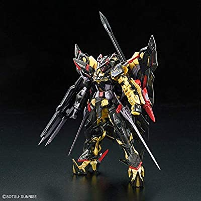 Bandai 5055460 Mbf-P01-Re2#24 Gundam Astray Gold Frame Amatsu Mina Rg Model Kit, from Gundam Seed Astray: Toys & Games