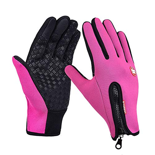 (TH-OUTSE Winter Brand Women Men Ski Gloves Snowboard Gloves Motorcycle Riding Waterproof Snow Windstopper Camping Leisure Mitten)