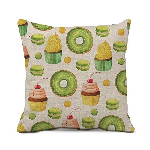 rewe-18-x-18-donut-decorative-throw-pillow-case-cushion-cover
