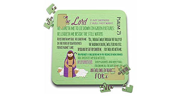 Amazon.com: TNMGraphics Scripture - Bible Psalm 23 With ...