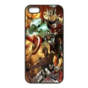 Al Vengadores Liiust Comics Marvel Arte Héroe Plus CF63KS7 funda iPhone 4 4s celular de la caja del teléfono funda C4JN7V8XC
