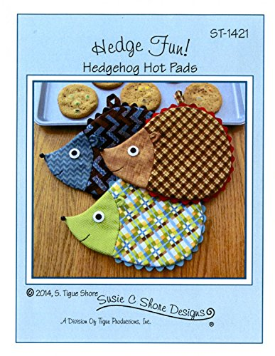 Hedge Fun! Hedgehog Hot Pads Pattern by Susie C. Shore Designs ST-1421 7