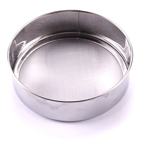 Stainless Steel Mesh Flour Sifting Sifter Sieve Strainer Cake Baking Kitchen REP
