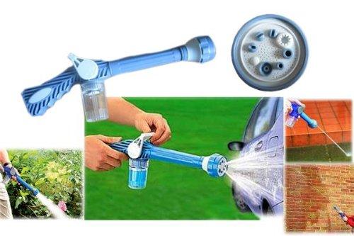 EZ Jet Cannon - wasserkanone gartenschlauch jet cannon für garten, autos waschen, gartenarbeit, reinigung dachrinne ...