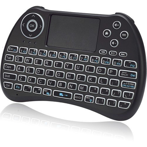 Adesso SlimTouch 4040 - Wireless Illuminated Keyboard Built-