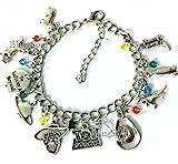 BlingSoul Toy Story Charm Bracelet Disney Jewelry Merchandise For Women