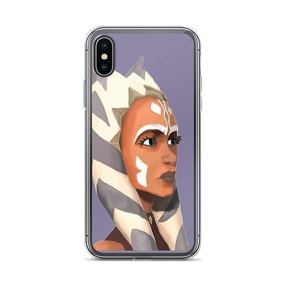 uk availability bb139 6b4db Amazon.com: iPhone 7/8 Pure Clear Case Cases Cover Ahsoka Tano ...