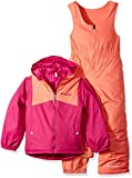 Kyпить Columbia Little Girls' Double Flake Set, Deep Blush, Hot Coral, 2T на Amazon.com