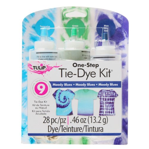 Tulip 31665 One Step Kit: Moody Blue Tie Dye