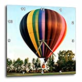 3drose Hot Air Balloon Wall Clock, 10 by 10-Inch For Sale