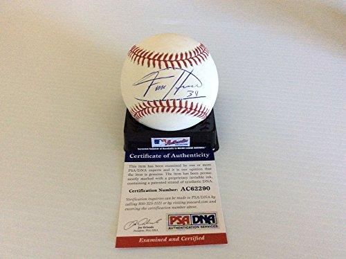 - Felix Hernandez Mariners Hand Autographed Signature King Felix Major League Baseball Psa Coa