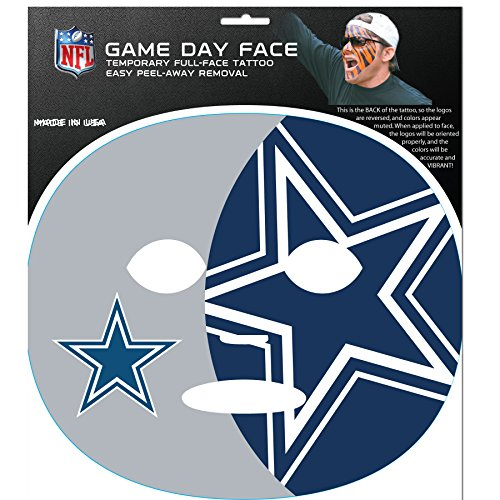 - NFL Dallas Cowboys Game Day Face Decal