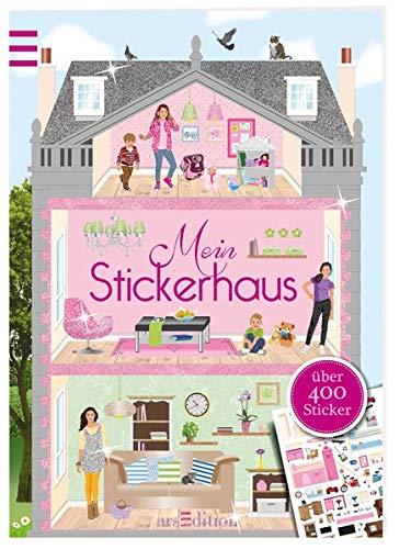 Mein Stickerhaus (Mein Stickerbuch) Taschenbuch – 3. Juli 2013 Ingrid Bräuer arsEdition 3760799884 empfohlenes Alter: ab 4 Jahre