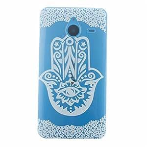 Gift_Source Lumia 640 XL Funda, 640 XL Funda, Suave Ultra Delgada flexible Carcasa Resistente a los arañazos de gel TPU Funda paraMicrosoft Nokia Lumia 640 XL [ Datura flores ]