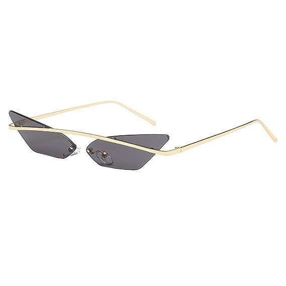 Gafas de sol para Mujer Retro Clásico UV400 Lentes irregular ...
