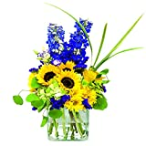 eFlowy Gorgeous Vase Floral Arrangement