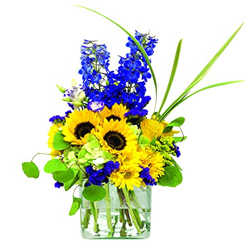 eFlowy Gorgeous Vase Floral Arrangement by eFlowy