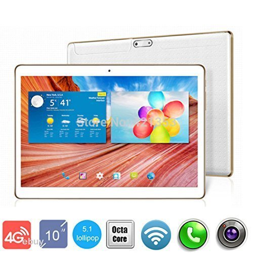 """4G LTE 9.6""""Tablet Phone Black1280800 IPS Octa Core RAM 4GB ROM 64GB 8.0MP MTK6592 4G Dual sim card Phone Call Tablets PC Android 5.1 GPS -  poouye, PT-960"""