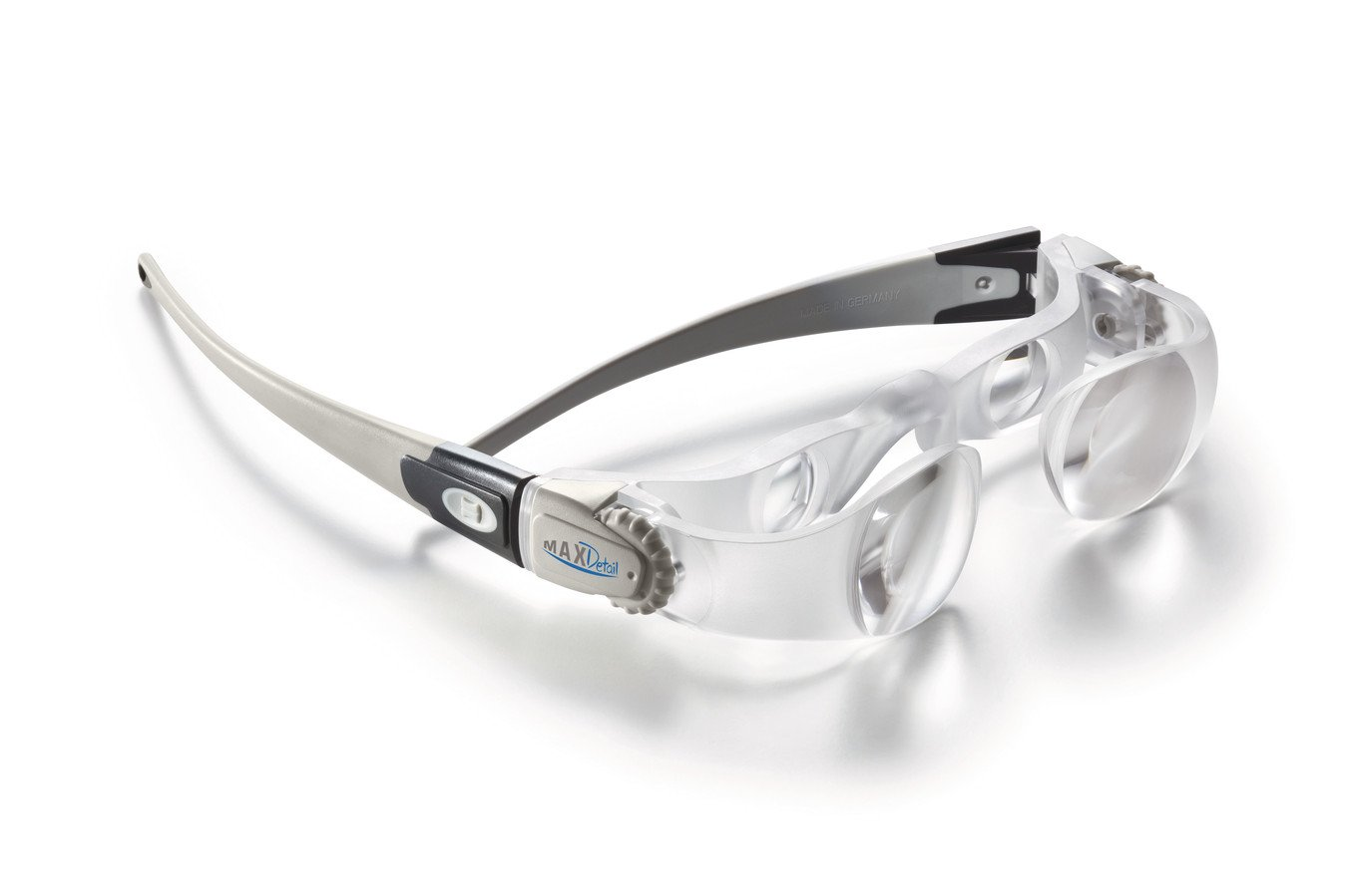 maxdetail 2/X Ingrandimenti 10/Zeiss Occhiali di panni per la pulizia incl Eschenbach lente occhiali