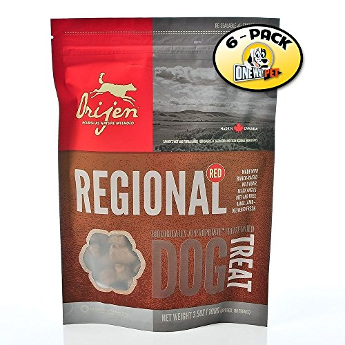 Orijen Regional Red Freeze-dried Dog Treats 2oz. (Pack of 6)