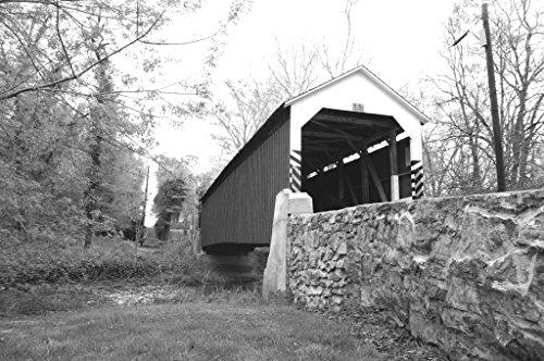 Siegrist's Mill Covered Bridge Lancaster, PA photograph by Terry Siegrist (Covered Pa Bridge)