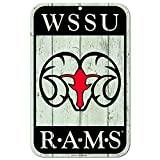 WinCraft Winston Salem Rams Official NCAA 11'' x 17'' Fence Plastic Wall Sign 11x17 by 815484
