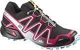 Cheap Salomon Women's Speedcross 3 CS Trail Running Shoe, Black/Lotus Pink/Air, 10 M US