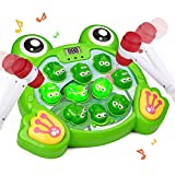 Tuptoel Kids Toys, 2020 Newest Girls & Boys Toys Interactive Whack A Frog, Musical Toys Gifts for Age 2 3 4 5 6 7 8