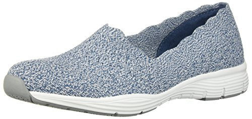 Negro Skechers Blue Seager Light Zapatillas stat Cf6wqfHZxt