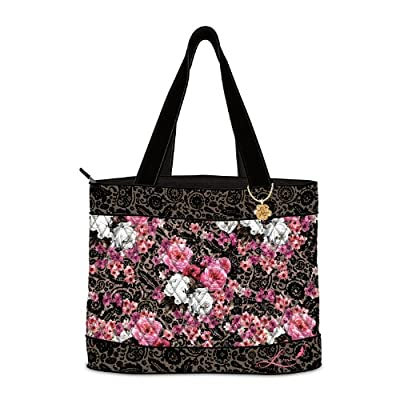Tote Bag: Veranda Tote Bag by The Bradford Exchange