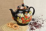 Stylish Lovely Kitchenware Designer Handmade Teapot Clay Lovely Home Decor