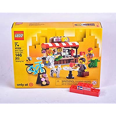 LEGO 40358 Bean There, Donut That: Toys & Games