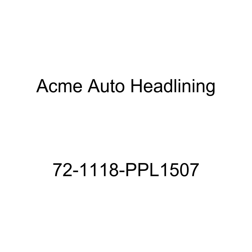 1972 Buick Estate Wagon 4 Door Wagon Acme Auto Headlining 72-1118-PPL1507 Red Replacement Headliner 8 Bow