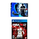 PS4 500GB Uncharted 4 + NBA 2K17