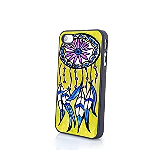 Generic Colorful Dream Catcher iPhone 4/4S PC Skin Matte Hard Cover Protective Case